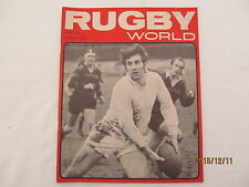 Rugby Union Magazine--Rugby World April 1970