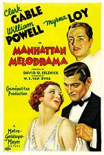 Manhattan Melodrama - 1934 - Gable Powell Loy Van Dyke pre-Code Crime Drama DVD