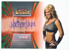 "MADISON RAYNE ""AUTOGRAPH CARD #07/25"" TNA NEW ERA 2010"