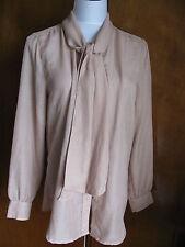Gap women's beige stylish tunic top size large NWT