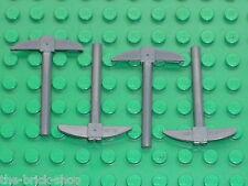 Pioche LEGO Minifig tool Pickaxe ref 3841 / Set 7036 8964 9473 79003 75014 4754