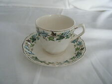 C4 Pottery Johnson Bros Old Chelsea Cup & Saucer 14x9cm 3A7C