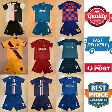 Soccer jerseys set, Ronaldo, Messi, Neymar, M.Salah, Mbappe, Hazard, AU stock