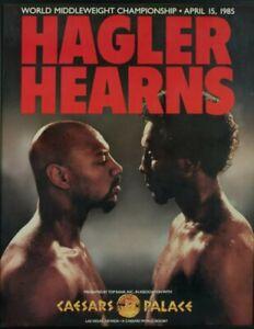 MARVIN HAGLER vs THOMAS HEARNS 8X10 PHOTO BOXING POSTER PICTURE CAESARS