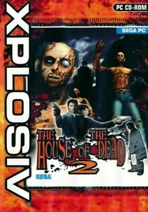 House of the Dead 2 - Sega Arcade Shooter - PC CD-ROM Game (Disc in Sleeve)