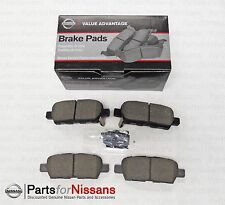 GENUINE NISSAN REAR BRAKE PADS ALTIMA JUKE MURANO ROGUE SENTRA PATHFINDER LEAF