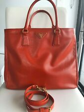 authentic PRADA Saffiano lux shopping tote double zip, $150 off if minus strap