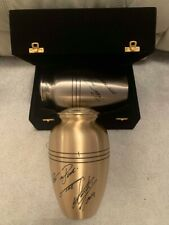 "Undertaker Signed ""Rest in Peace"" Urn WWE Wrestling 100% Authentic COA"