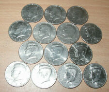 (14) 1971 - 1999 D Kennedy Half Dollar - Circulated but VERY Nice FREE SHIPPING