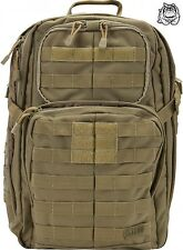 5.11 TACTICAL RUSH 24 BACKPACK 58601 / SANDSTONE 328 * NEW *