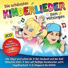 Die schönsten Kinderlieder zum Mitsingen von Die Karaoke Kids | CD | Zustand gut