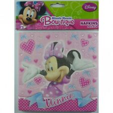 """""""MICKEY MOUSE CLUBHOUSE""""   Pack of 16 Minnie Mouse Bow-tique Party Napkins!"""