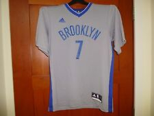 Men's Adidas NBA Gray Alt Replica Jersey Lin #7 Brooklyn Nets Small