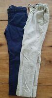 EUC Ralph Lauren and Gap Kids Boys  Tan and blue Pants Size 6