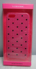 VICTORIA'S SECRET FISHNET WITH DOTS IPHONE 5/5S CASE IN PINK NIB