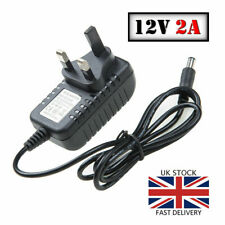 AC DC 12V 2A POWER SUPPLY ADAPTER CHARGER FOR CAMERA LED STRIP LIGHT CCTV