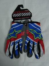 NWT Alpinestars Mens Stratus Biker Cycling Gloves Red White Blue Sz M