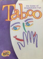 Hasbro TABOO Party Game FACTORY SEALED NEW. See pics. (C320)