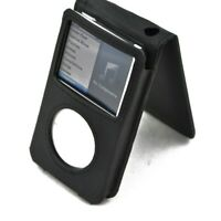 Black Leather Case for iPod Classic/Video 30GB/80GB/120GB/160GB 5th 6th 7th Thin
