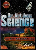 Dr. Art Does Science (DVD) with Art Sussman - Dr. Art's Planet Earth Show NEW