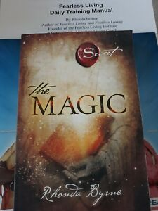The Magic:The Secret by Rhonda Byrne NEW & Fearless Living by Rhonda Britten