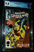 AMAZING SPIDER-MAN #265 1985 Marvel Comics CGC 9.8 NM/MT White Pages