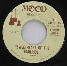 "Rare Country 45 The Moods - ""Sweetheart Of The Trailride"" / ""La Grange"" On Mood"