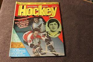 1973 (Nov.) Ben Strong Series Hockey magazine - Rick MacLeish, Steve Vickers