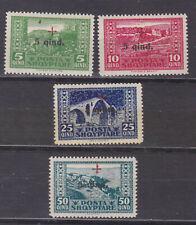 albania 1924 Sc B1/4 set,surtax  stamps    q1147