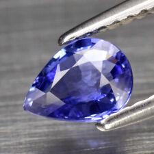 Saphir naturel bleu, 0,72 ct