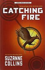 Catching Fire Suzanne Collins Large Print Free Shipping Hunger Games