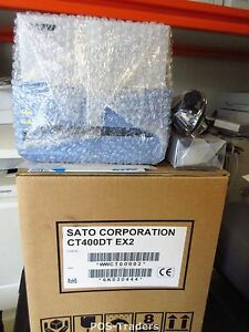 NEW IN BOX Sato CT400 DT WiFi WIRELESS CT400DT 203DPI EX2 Thermal Label Printer