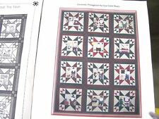 CHRISTMAS THROUGHOUT THE YEAR BLOCK OF THE MONTH QUILT KIT PATTERNS & FABRIC