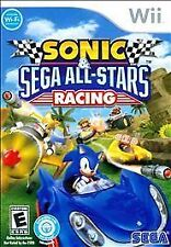 Sonic & Sega All-Stars Racing (Nintendo Wii, 2010) BRAND NEW  and FACTORY SEALED