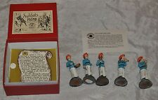 Les Soldats De Plomb Paris France Box w Toy Soldiers Lead Painted Dragoons 1812