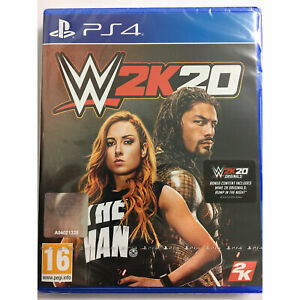 WWE 2K20 PS4 PLAYSTATION - IN STOCK NOW - New and Sealed W2K20 Wrestling
