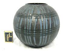 "Rare late 60´s design CARSTENS "" Ankara variation "" Keramik ball vase Kugel Vase"
