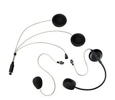 HELMET MICROPHONE EARPHONE SET COHS PMR 446 BHS 300U 600 ALBERTH