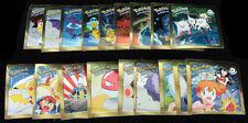 1998 Artbox Pokemon Chrome Action Flipz Series 1 Set (R01-R18) Nm/Mt