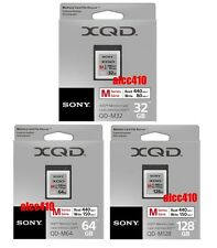 Sony Professional 32GB 64GB 128GB XQD 2.0 2933x Memory Card 440MB/s 4K Lexar
