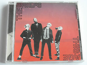 The Briefs - This Age (Rock / Punk CD single) Used Very Good