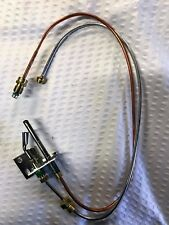 """Gas Log Safety Pilot Tube and Thermocouple Assembly for Natural Gas 18"""" Leads"""