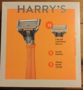 Harry's Men's Razor, 13 Refill Cartridges & Travel Blade  Cover