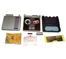 Convient pour Gameboy Advance SP Boîtier GBA SP Classic NES Edition argent
