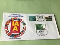 Germany 1975 International Motor Show Frankfurt  Stamp Cover  Ref 52177
