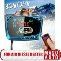 12V/24V Air Diesel Heater Parking Remote Controller With Monitor Switch Board