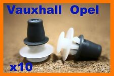 10 Vauxhall GM Opel rocker quarter panel sill wheel arch plastic fastener clips