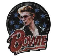 David Bowie Glitter Embroidered Patch B019P Ziggy Stardust Iggy Pop Stooges