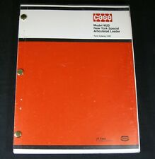 CASE W20 New York Special Articulated Loader Tractor Parts Manual Book Catalog