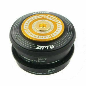 "ZTTO 4444S MTB Headset 44mm 1-1/8"" 28.6mm Straight Tube Fork Mountain Road Bike"